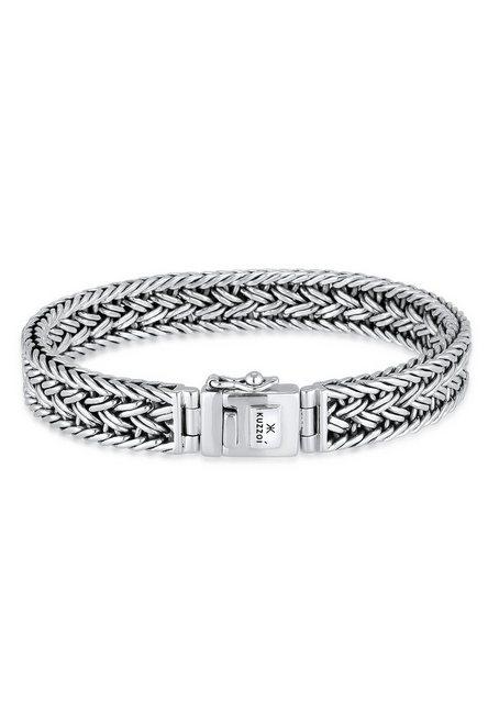 Kuzzoi Armband »Unisex Königskette Kastenverschluss 925er Silber« günstig online kaufen