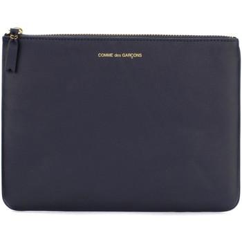 Comme Des Garcons  Geldbeutel Bustina in pelle blu navy günstig online kaufen