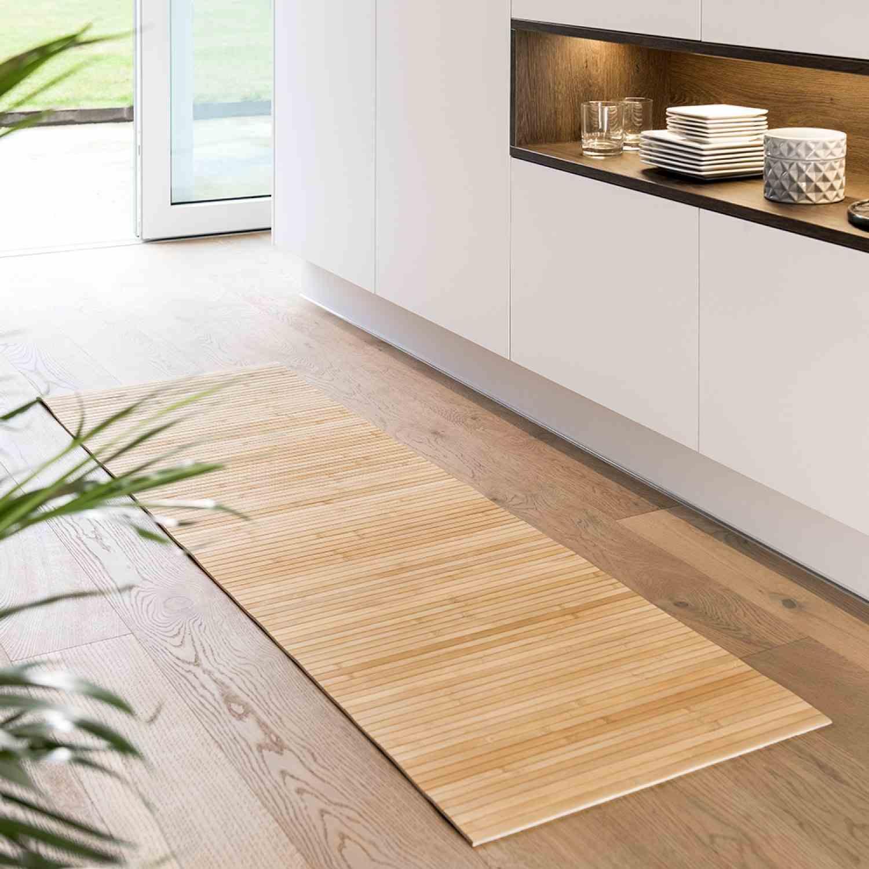 Bambus Matten fuer Bad, Kueche, Flur • 6 Groessen • Nachhaltig Produziert • günstig online kaufen