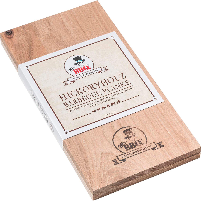 Mr. BBQ® Räucherplanke Hickory 30 cm x 15 cm günstig online kaufen