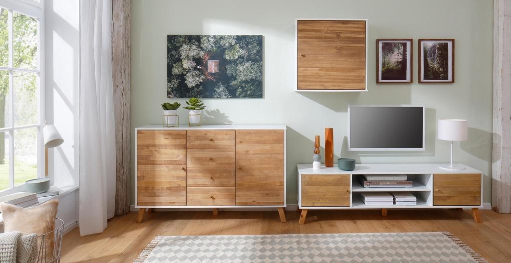 Home affaire Hängeschrank Rondo, mit Holztür und einem Einlegeboden, aus Ma günstig online kaufen