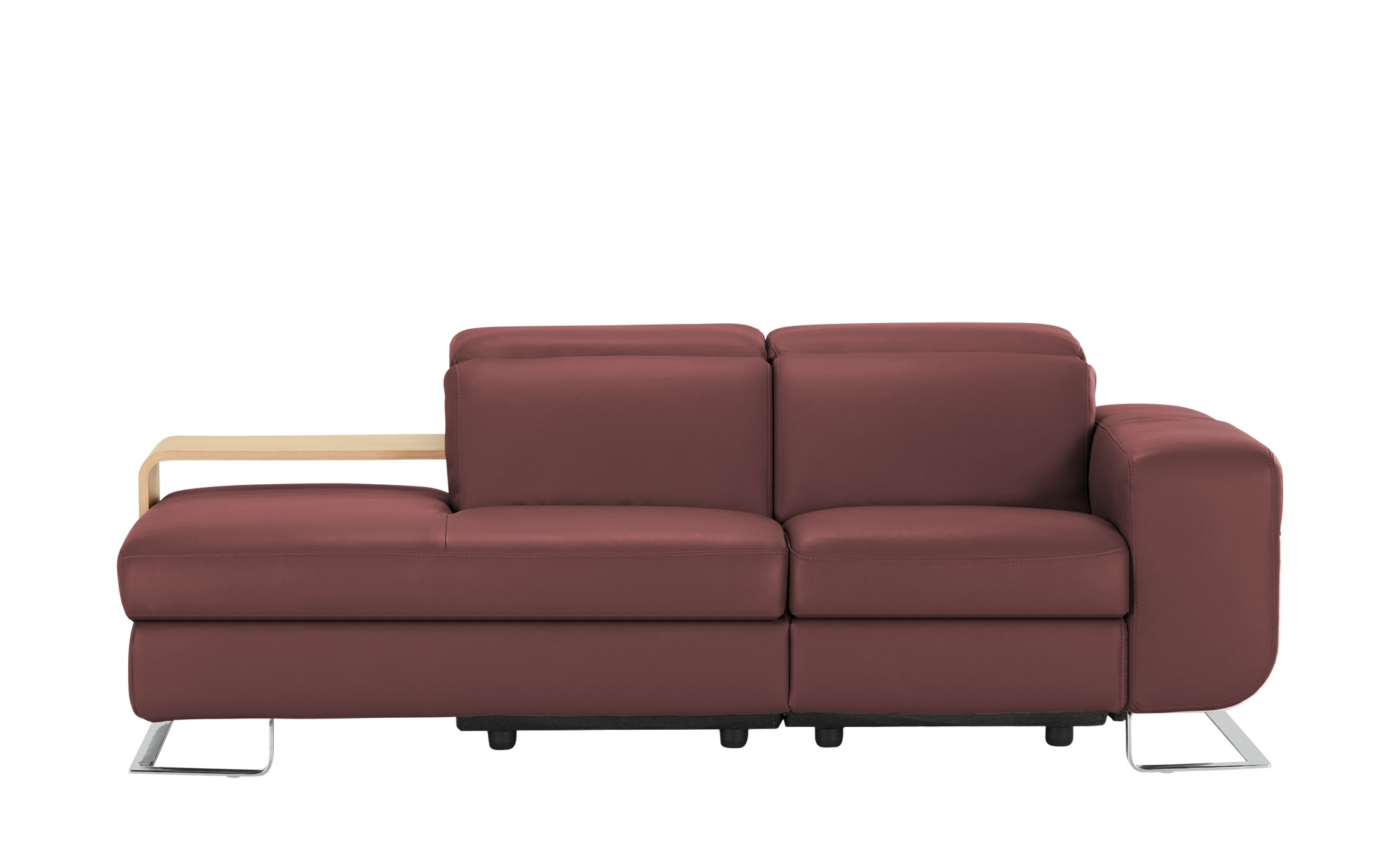 JOOP! Ledersofa  8151 ¦ rot Polstermöbel > Sofas > Einzelsofas - Höffner günstig online kaufen