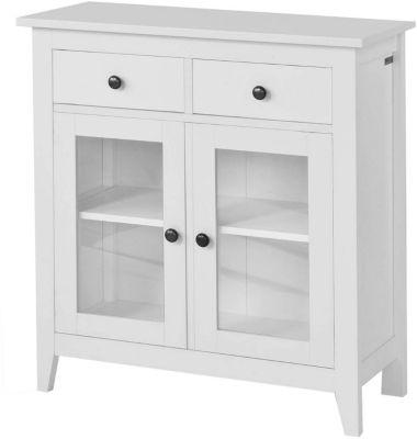 SoBuy® Sideboard Kommode Flurschrank Küchenschrank weiß günstig online kaufen