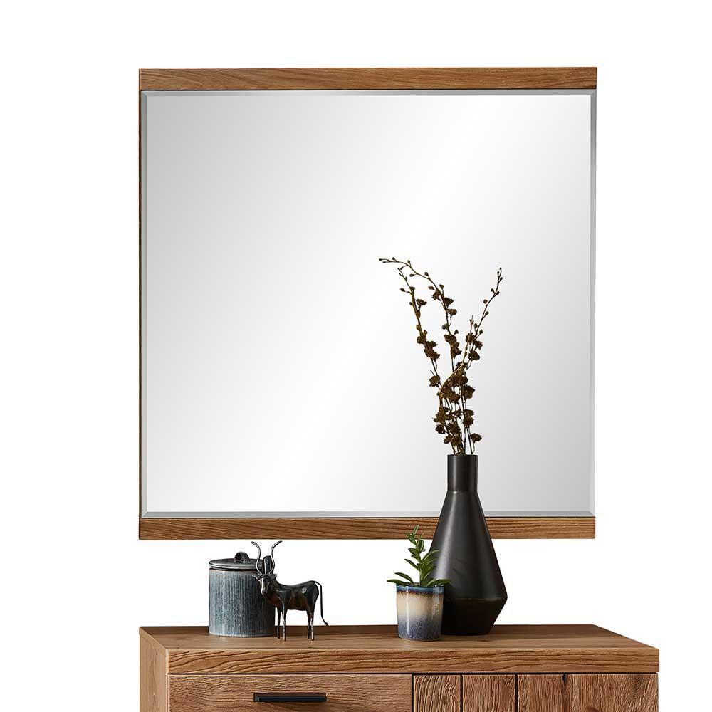 Wandspiegel in rechteckiger Form Facettenschliff günstig online kaufen