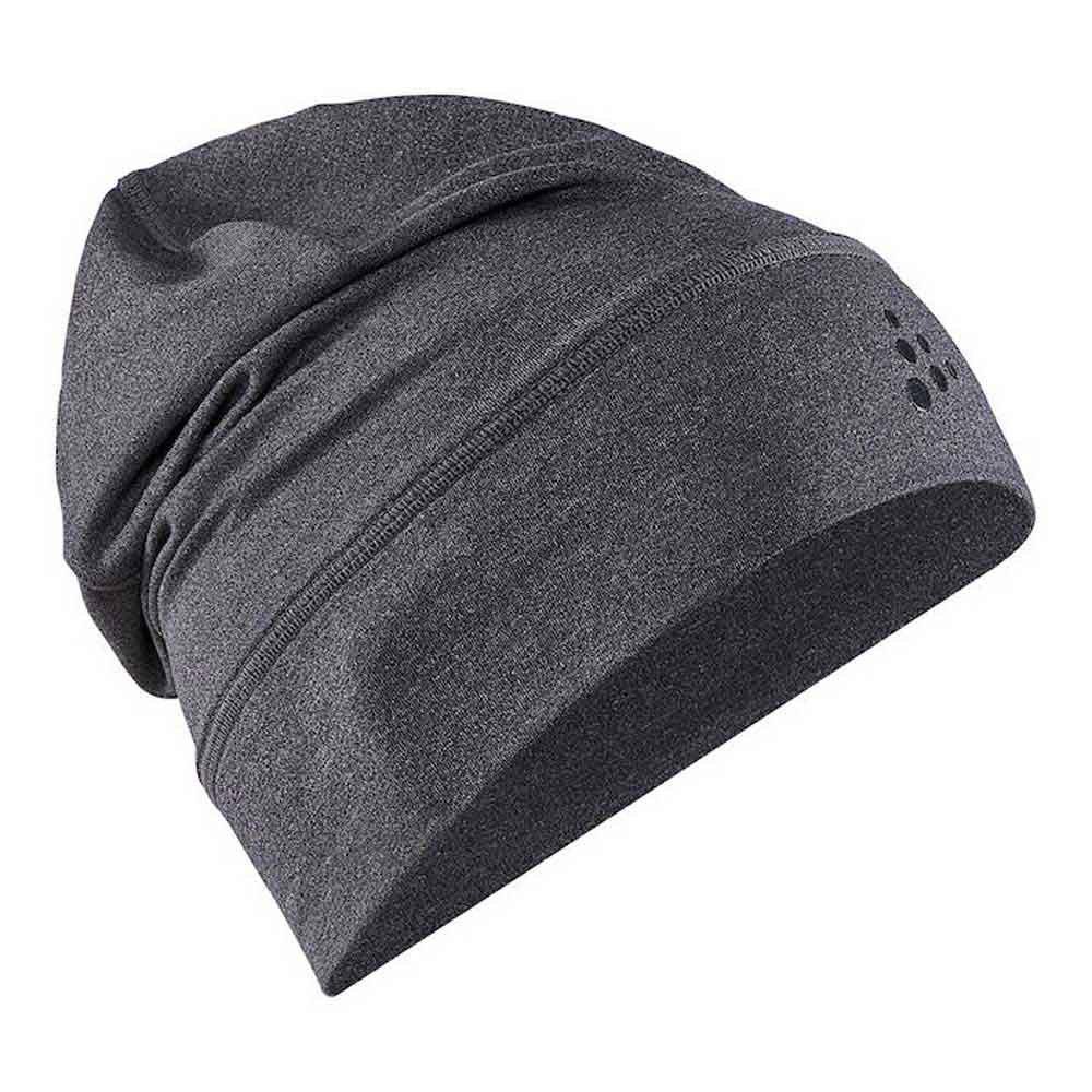 Craft Core Jersey High Mütze One Size Black Melange günstig online kaufen