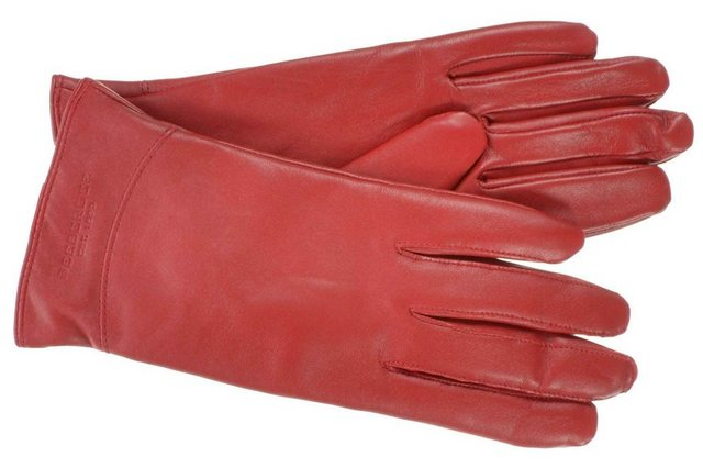 Seeberger Strickhandschuhe »langer Fingerhandschuh in weichem Leder 18467-0 günstig online kaufen