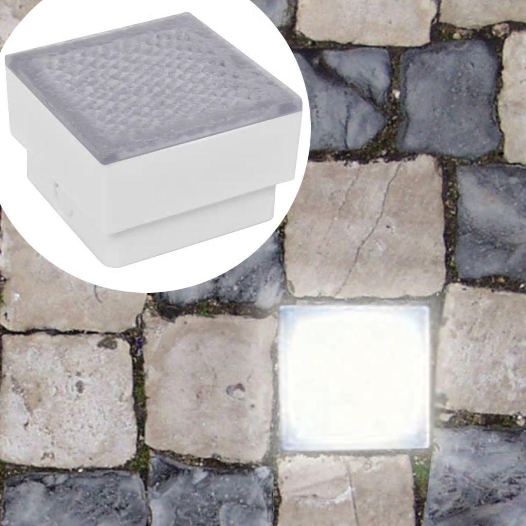 Led Bodeneinbauleuchten 6 Stk 100x100x68 Mm günstig online kaufen