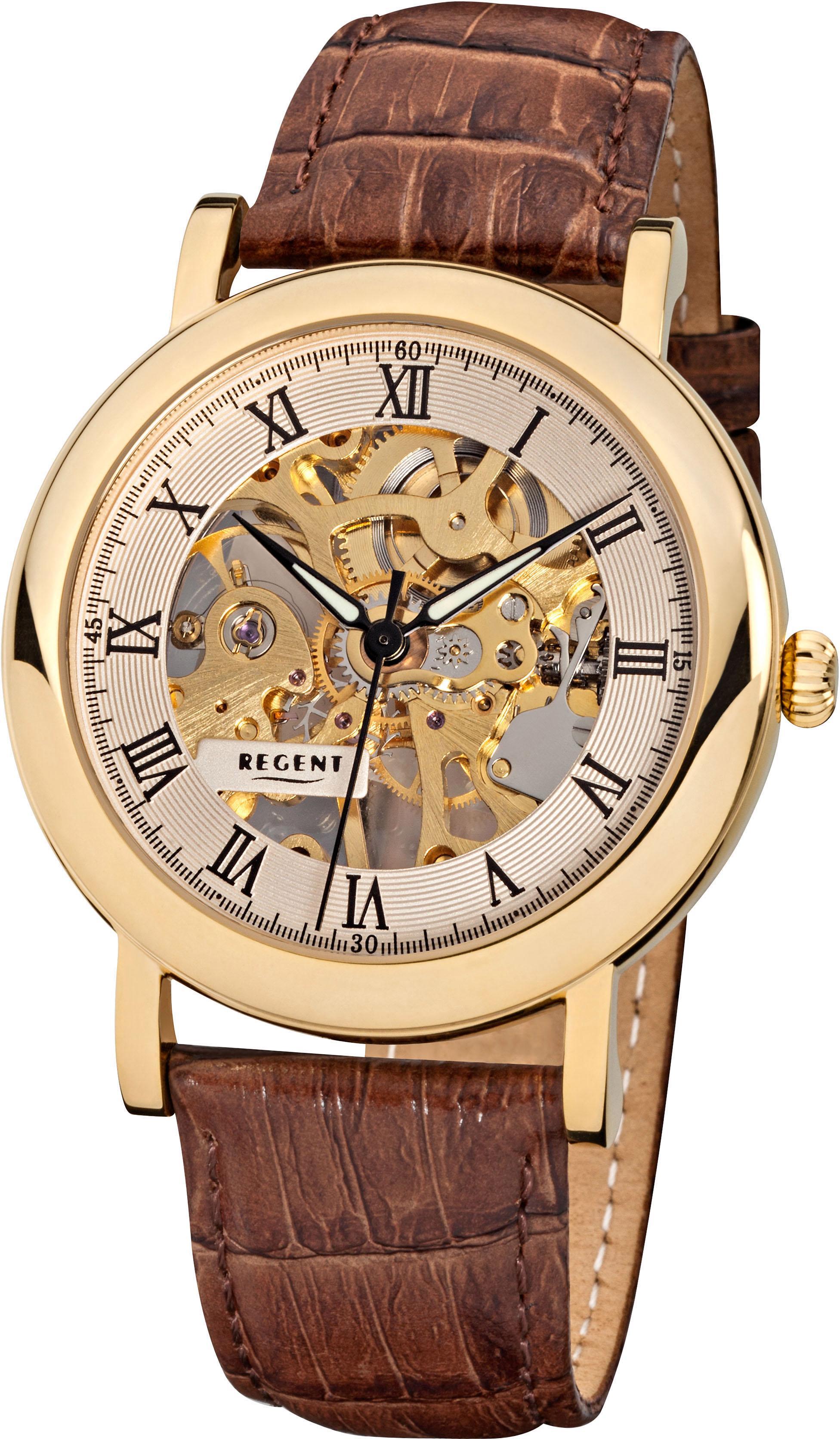Regent Mechanische Uhr 3523, F758 günstig online kaufen