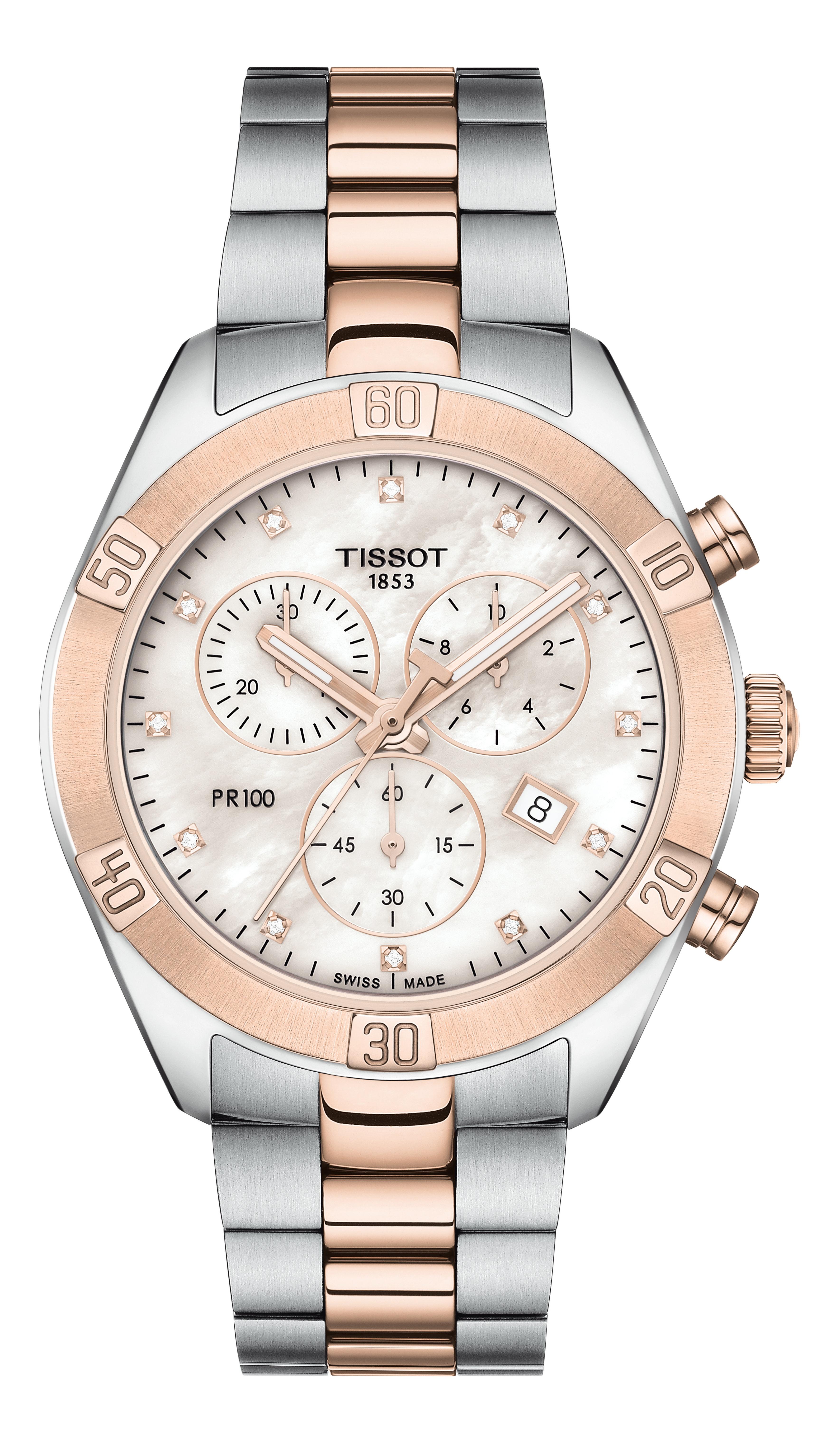 TISSOT -PR 100 Sport Chic Chronograph- T101.917.22.116.00 günstig online kaufen
