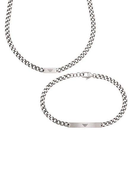Emporio Armani Ketten und Armband Set »Essential, EGS2856040« (Set, 2-tlg) günstig online kaufen