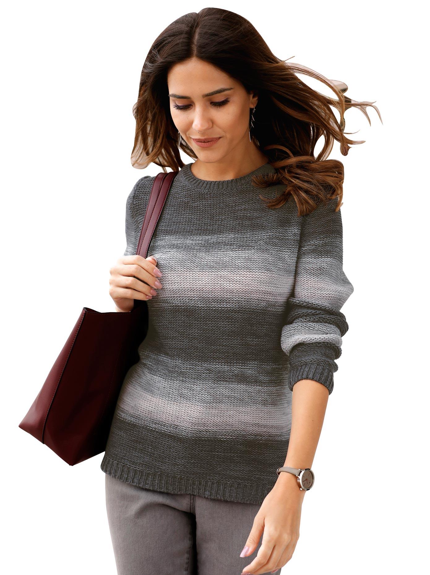 Classic Basics Rundhalspullover Pullover günstig online kaufen
