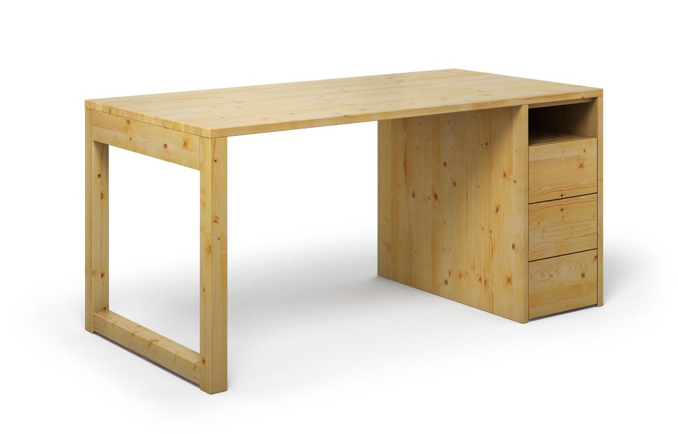 Schreibtisch Cantus aus Kiefer günstig online kaufen