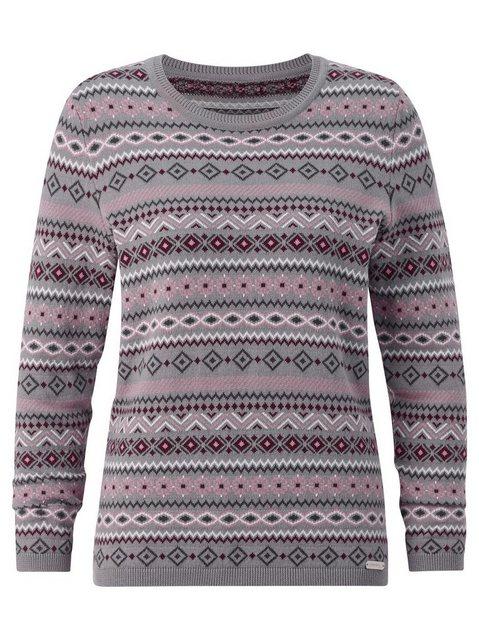 Casual Looks Norwegerpullover »Rundhals-Pullover« günstig online kaufen