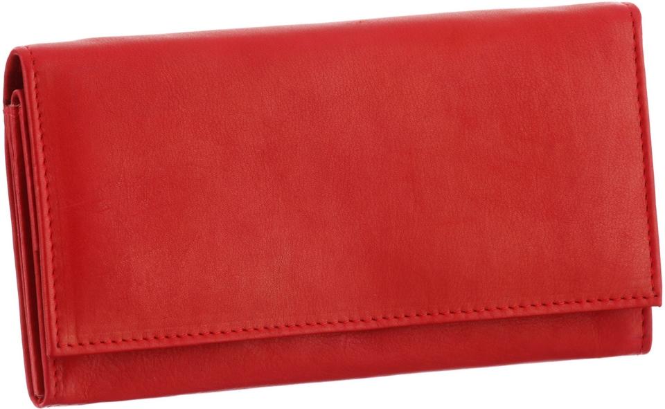 J.Jayz Geldbörse, aus weichem Leder mit Druckknopfverschluss günstig online kaufen