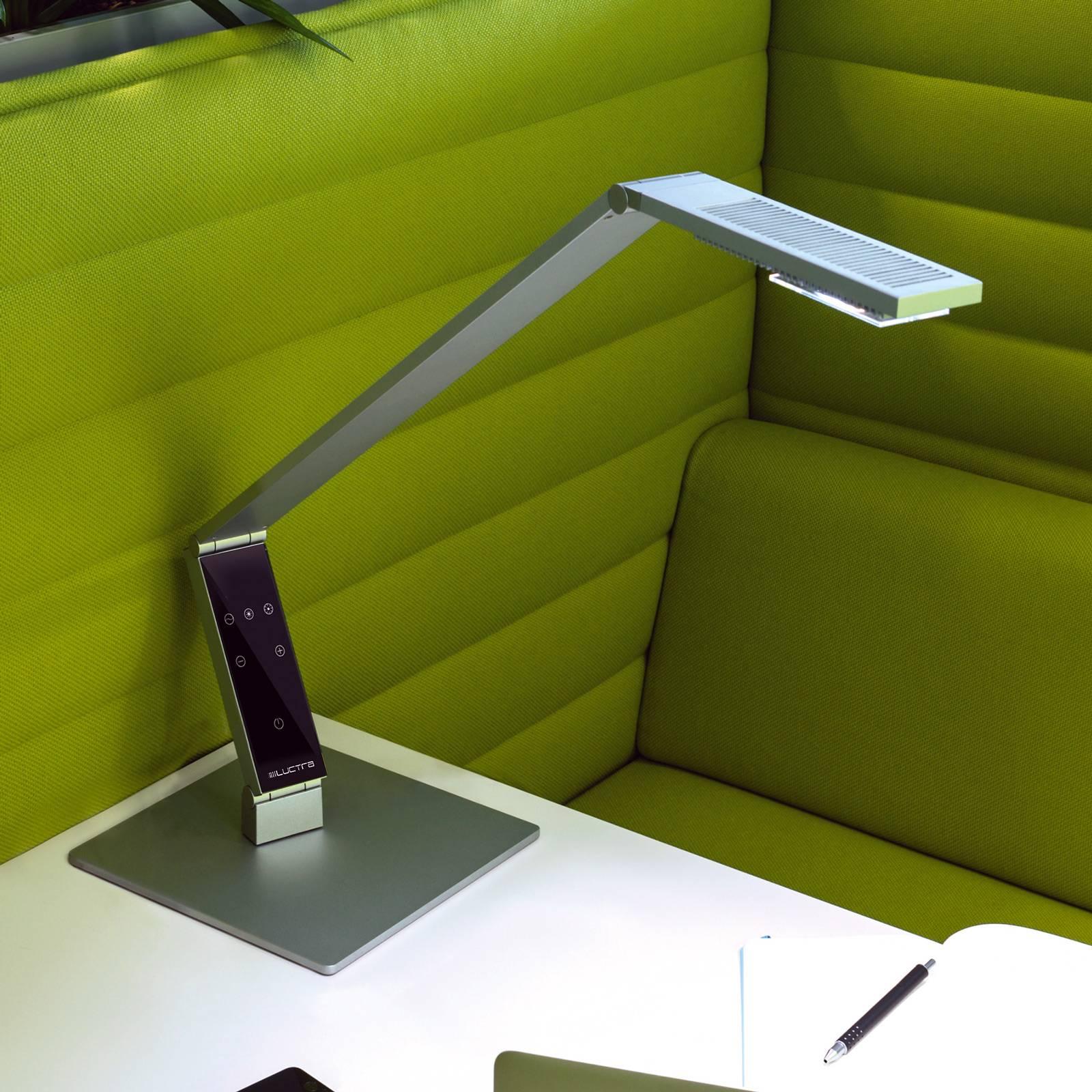 Luctra Table Linear LED-Tischleuchte Fuß alu günstig online kaufen