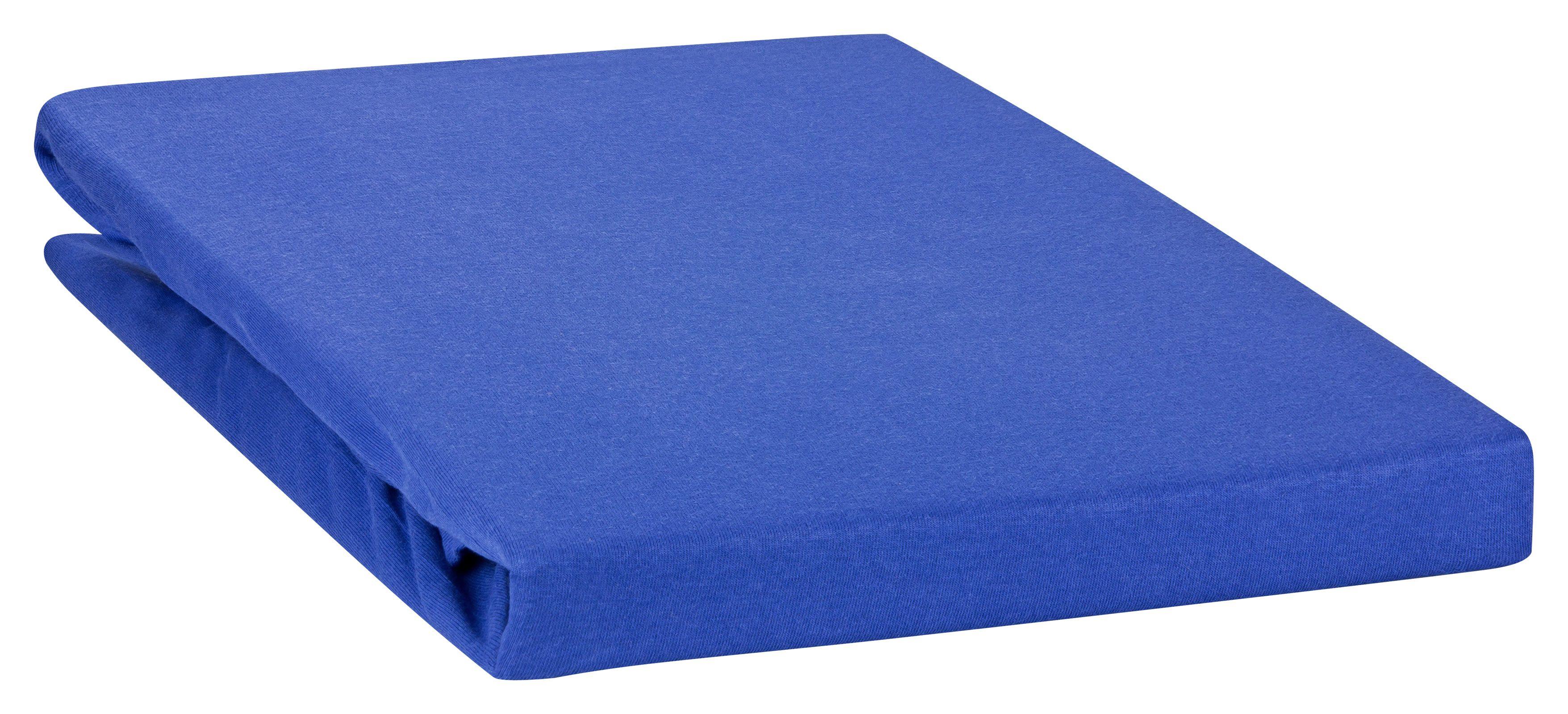 Moon Spannbetttuch Spannbettlaken auch für`s Wasserbett 160g/m² Jersey Line günstig online kaufen