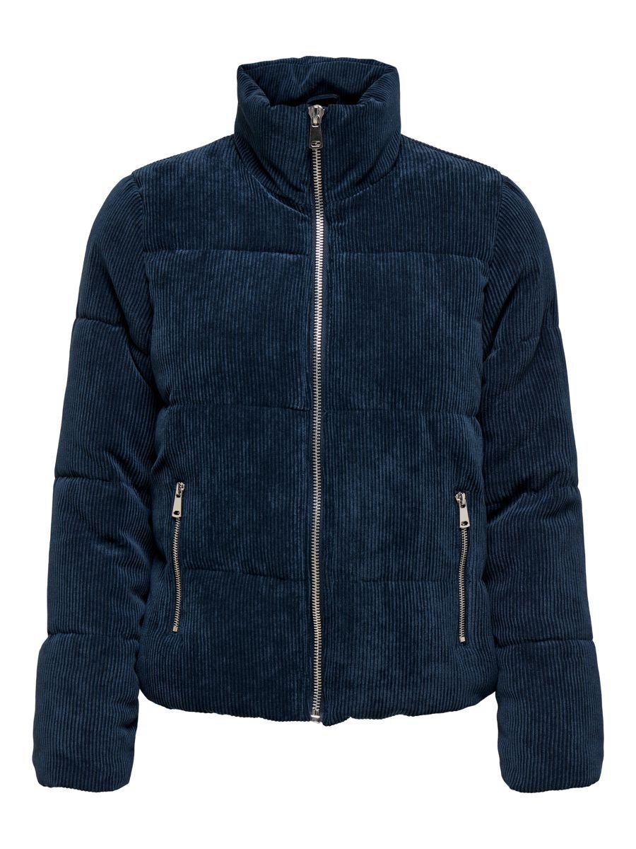 ONLY Stepp Cord Jacke Damen Blau günstig online kaufen