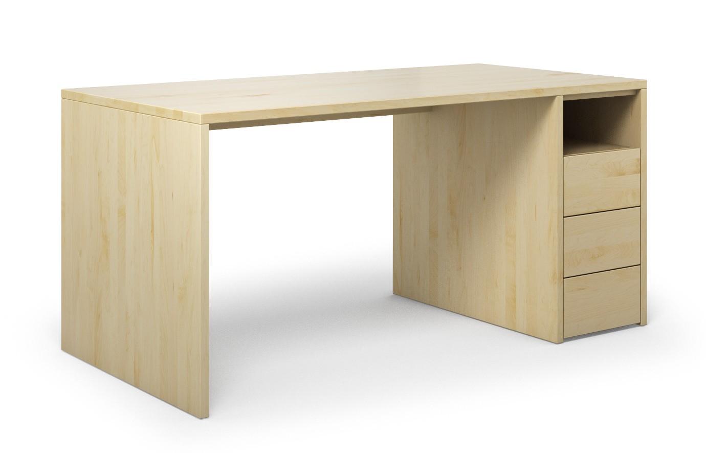 Schreibtisch Labora aus Ahorn günstig online kaufen