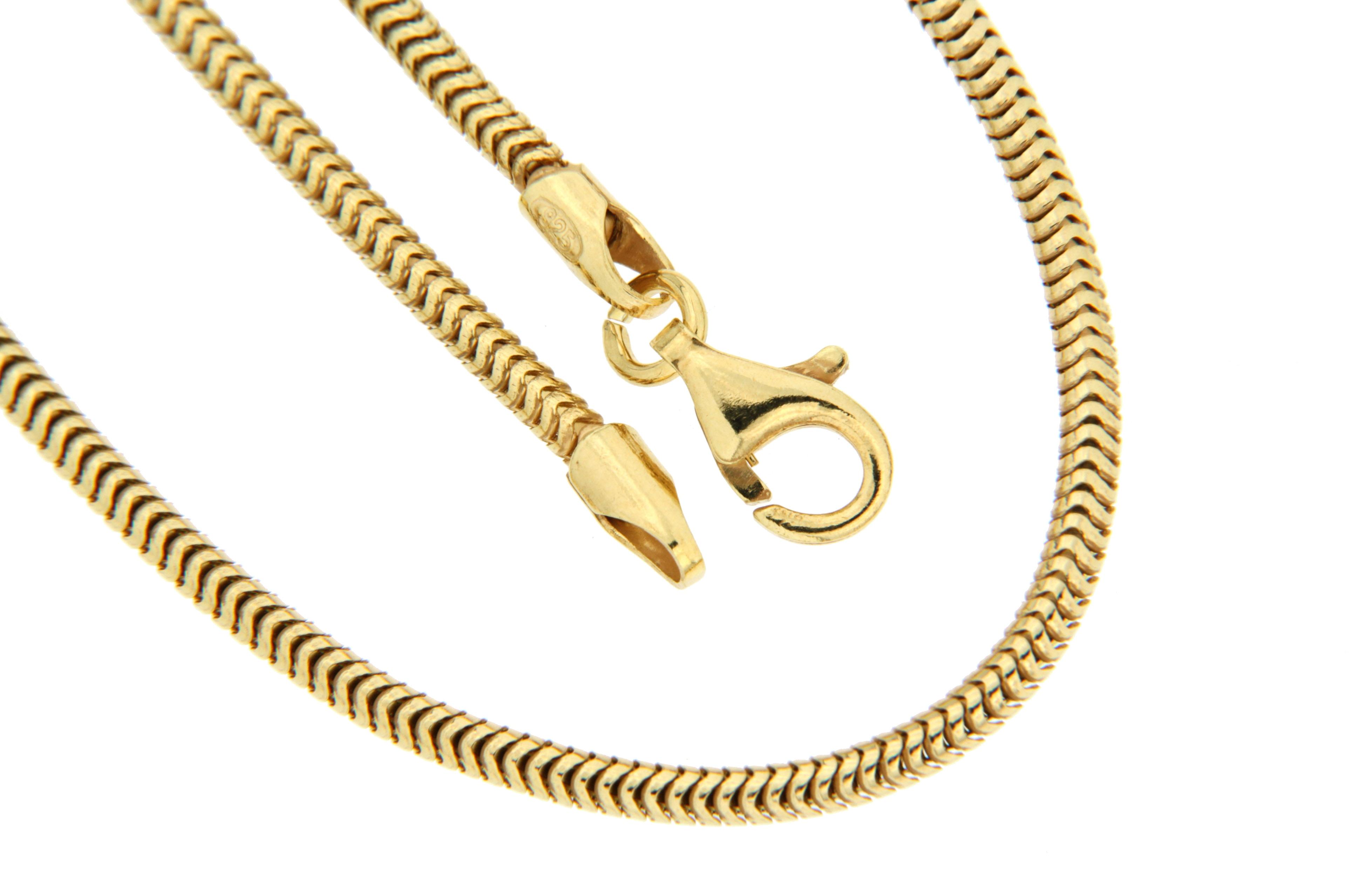 La Piora Silberkette »Schlange«, rund Glanz günstig online kaufen