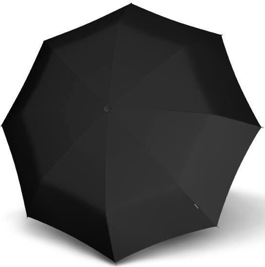 Knirps Taschenregenschirm T.301 Large Duomoatic, uni black günstig online kaufen