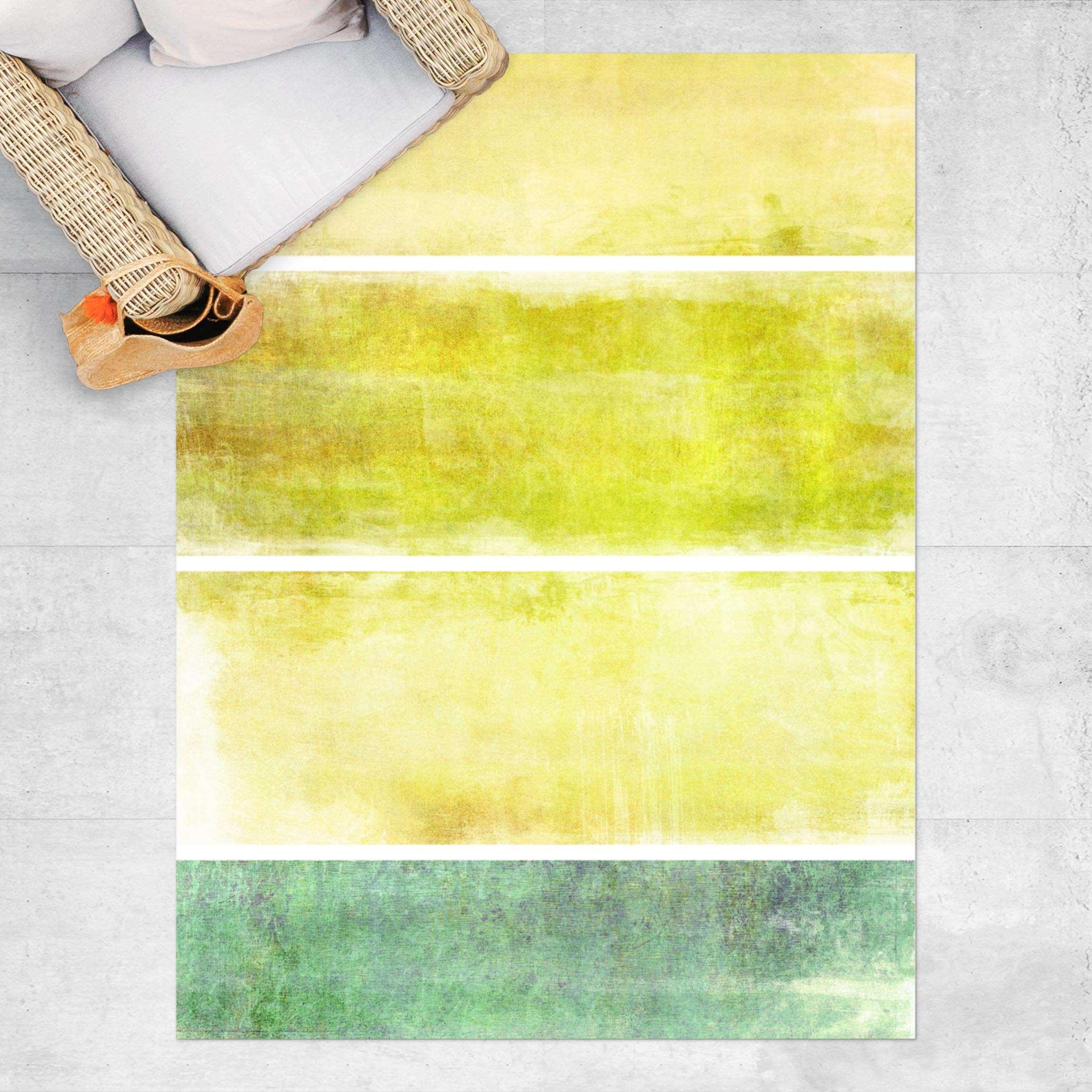 Vinyl-Teppich Colour Harmony Yellow günstig online kaufen