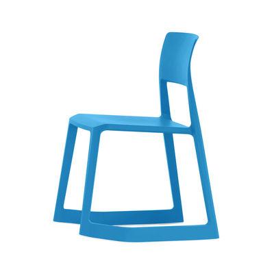 Tip Ton Stuhl / Schrägstellbar & ergonomisch - Vitra - Blau günstig online kaufen