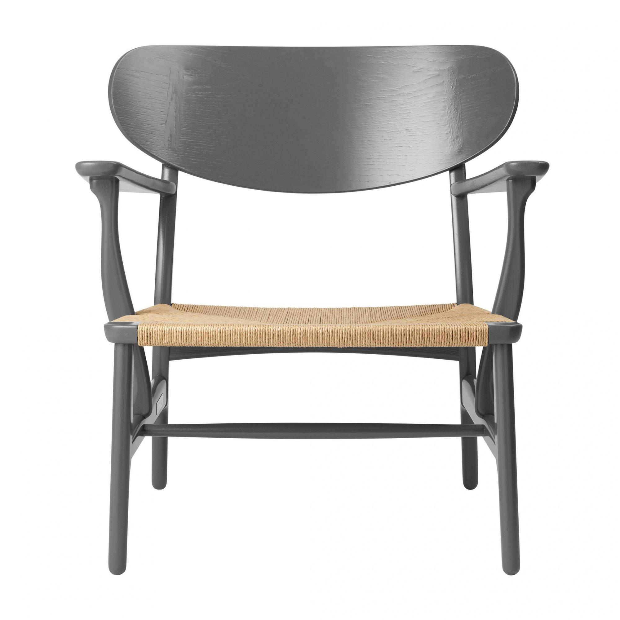 Carl Hansen - Limited Edition CH22 Sessel Gestell Eiche - Eiche schiefer la günstig online kaufen