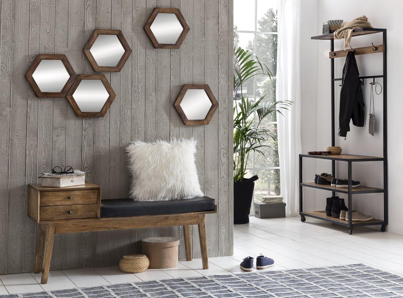 Garderobe »Panama«, Material Metall, Holz, SIT-Möbel günstig online kaufen
