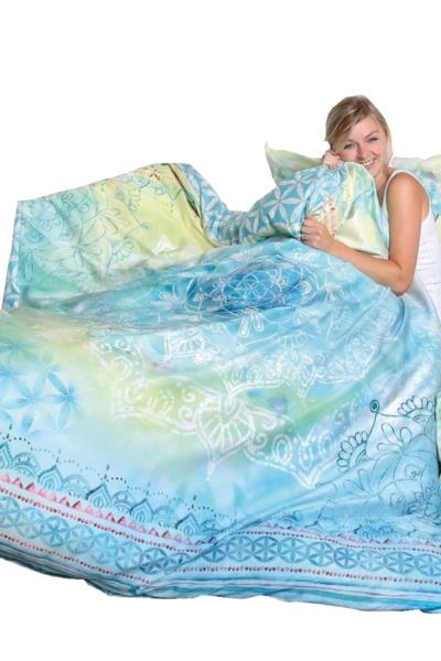 Bettwäsche Faszination Blue Dream, Div. Größen günstig online kaufen