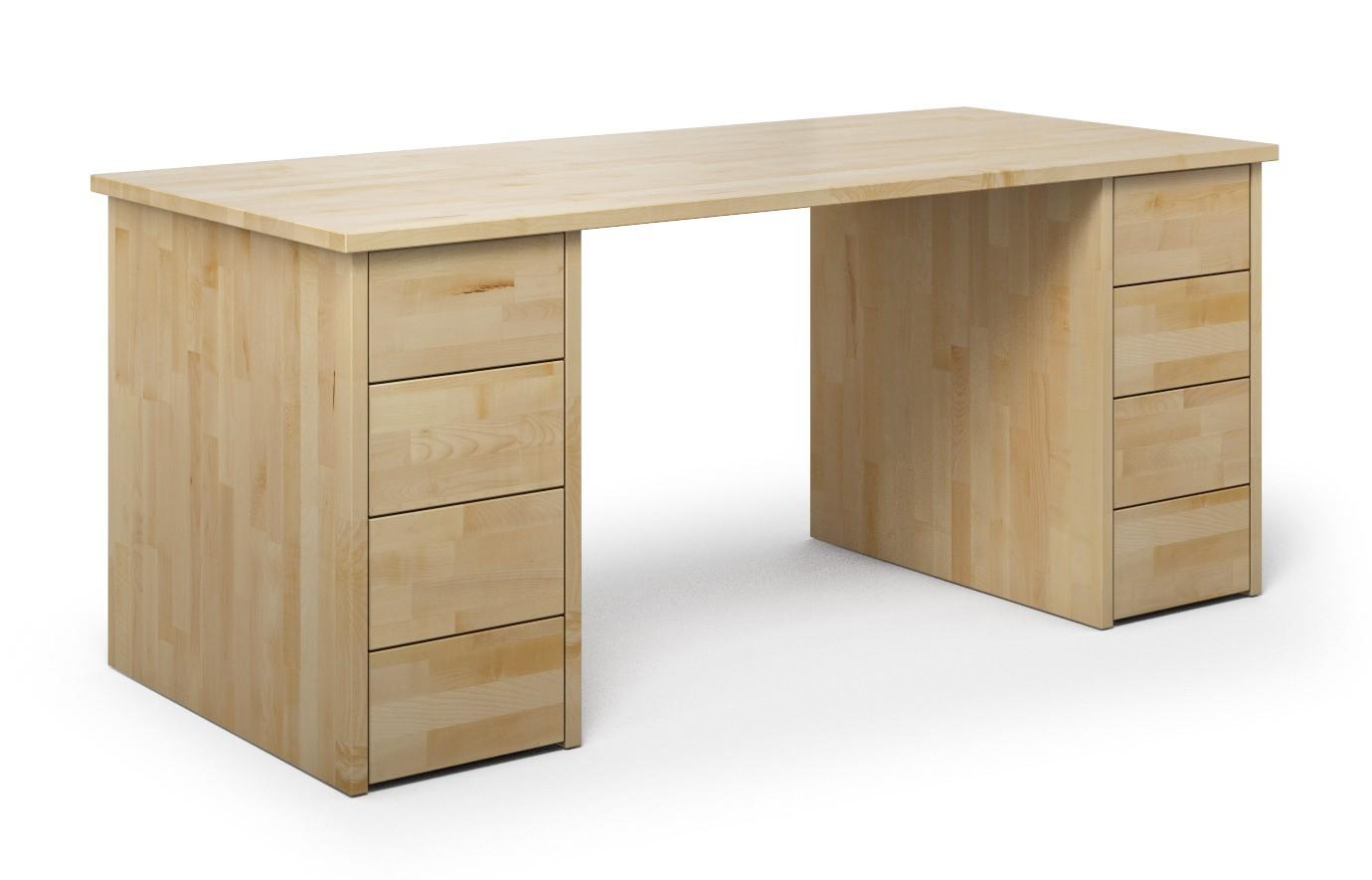 Schreibtisch Nagano aus Ahorn günstig online kaufen