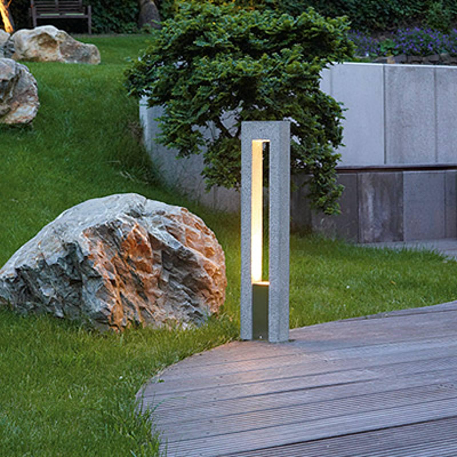 SLV Arrock Arc Wegeleuchte aus Granit günstig online kaufen
