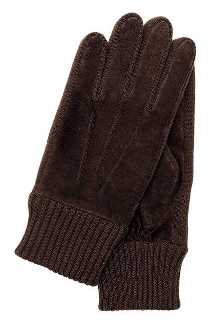 KESSLER Lederhandschuhe »STAN« Fleece-Innenfutter günstig online kaufen