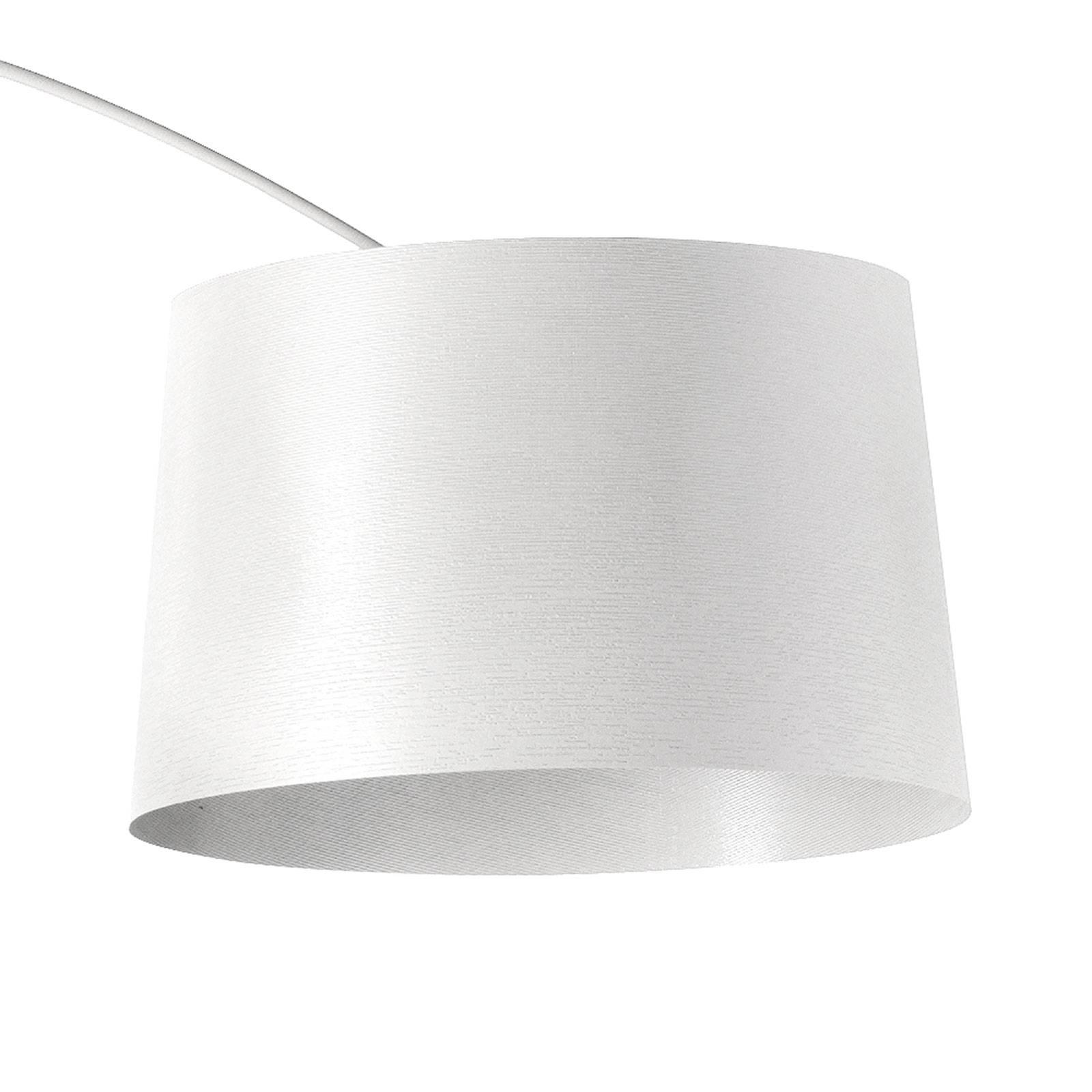 Foscarini Twiggy LED-Bogenleuchte, weiß günstig online kaufen