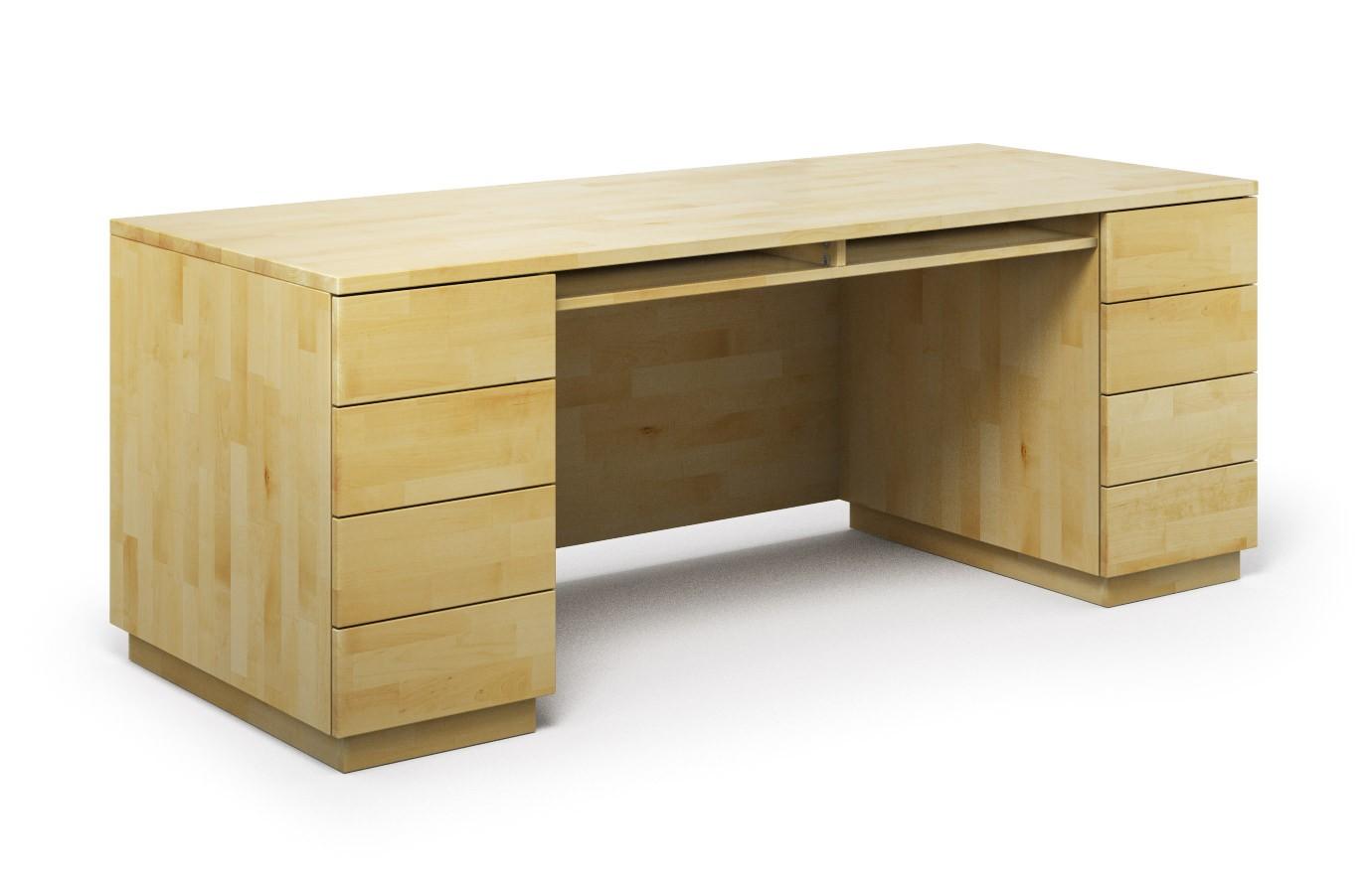 Schreibtisch Columbus aus Birke günstig online kaufen