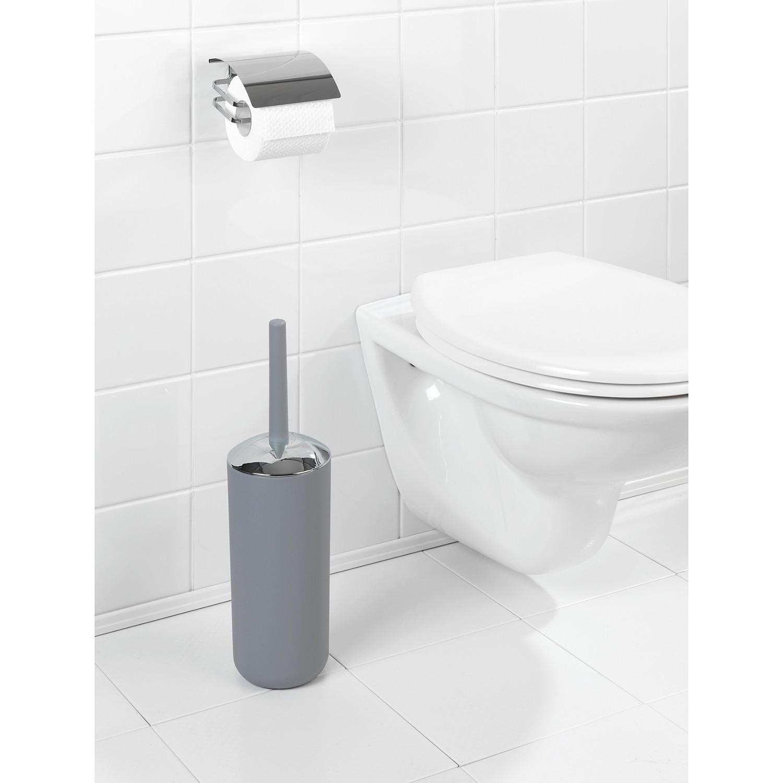 WC-Garnitur, grau, Material Spezialkunststoff »Brasil«, WENKO günstig online kaufen