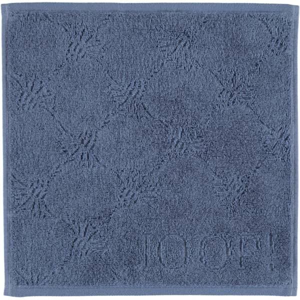 JOOP Uni Cornflower 1670 - Farbe: Marine - 111 Seiflappen 30x30 cm günstig online kaufen