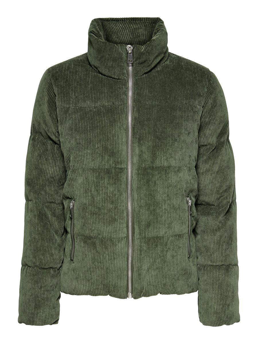 ONLY Stepp Cord Jacke Damen Grün günstig online kaufen