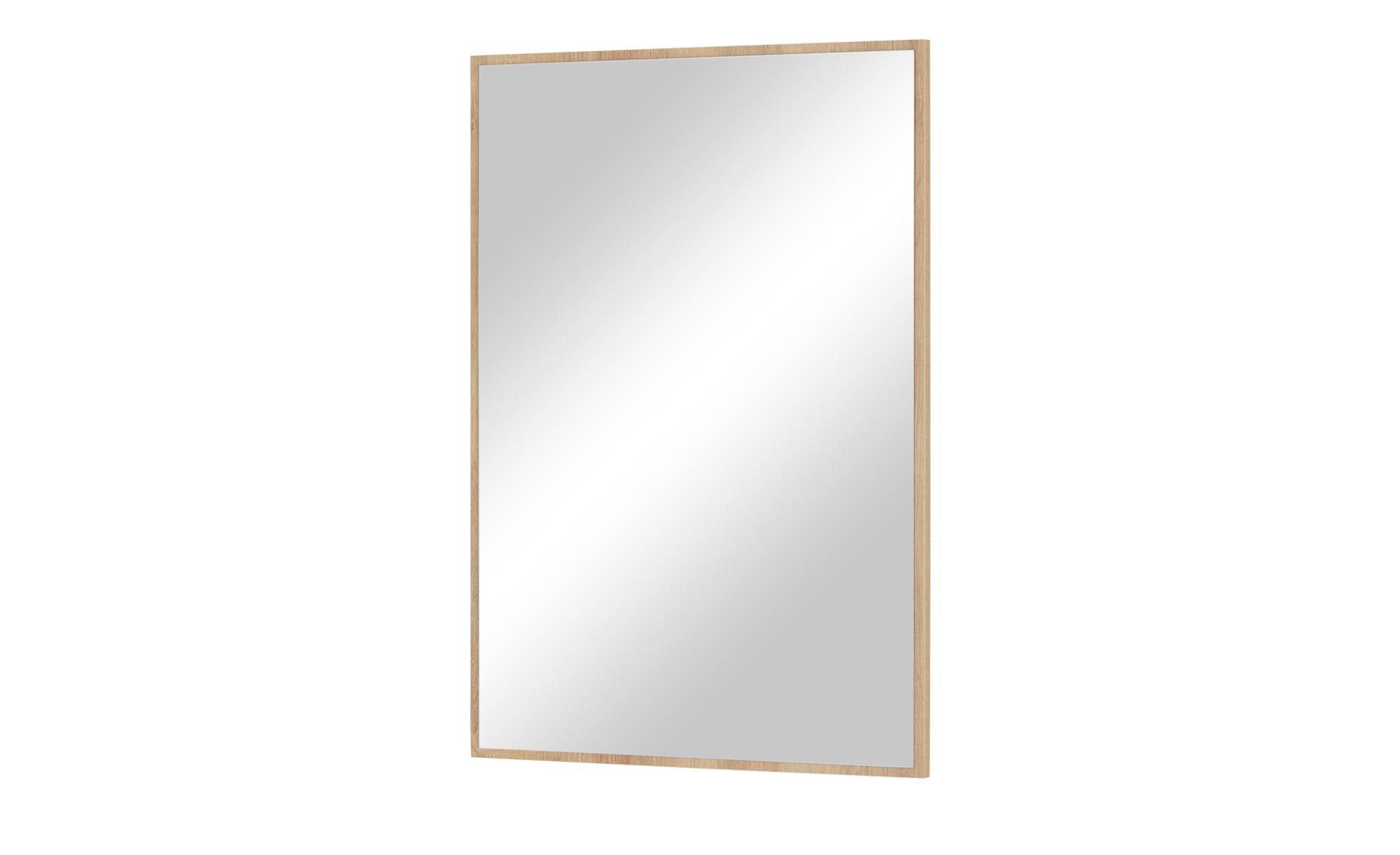 Spiegel - holzfarben - 55,8 cm - 80,8 cm - 2,2 cm - Garderoben & Kleidersta günstig online kaufen