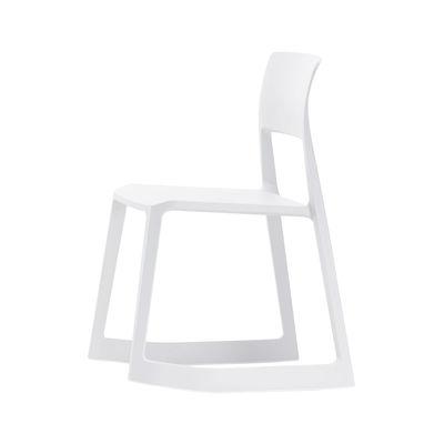 Tip Ton Stuhl / Schrägstellbar & ergonomisch - Vitra - Weiß günstig online kaufen