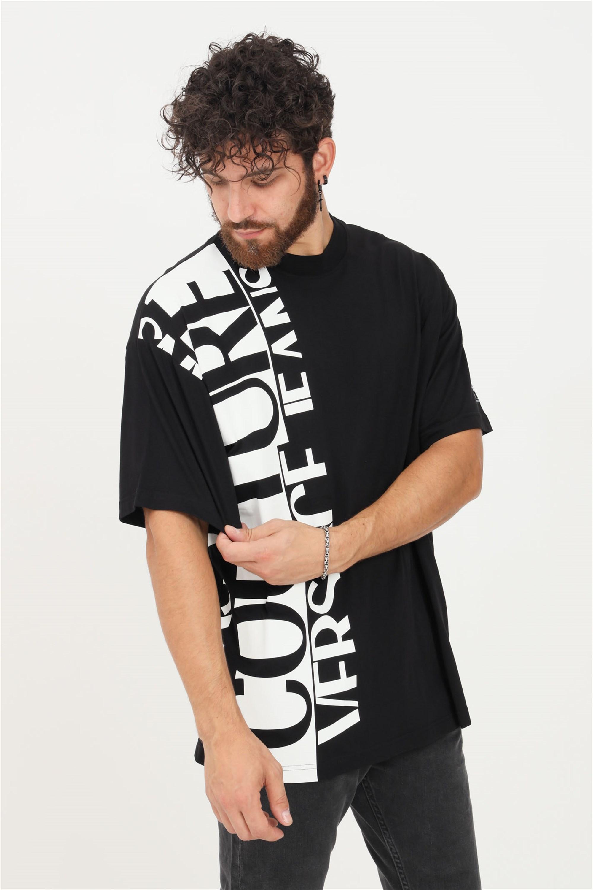 VERSACE JEANS COUTURE T-Shirt Unisex schwarz günstig online kaufen
