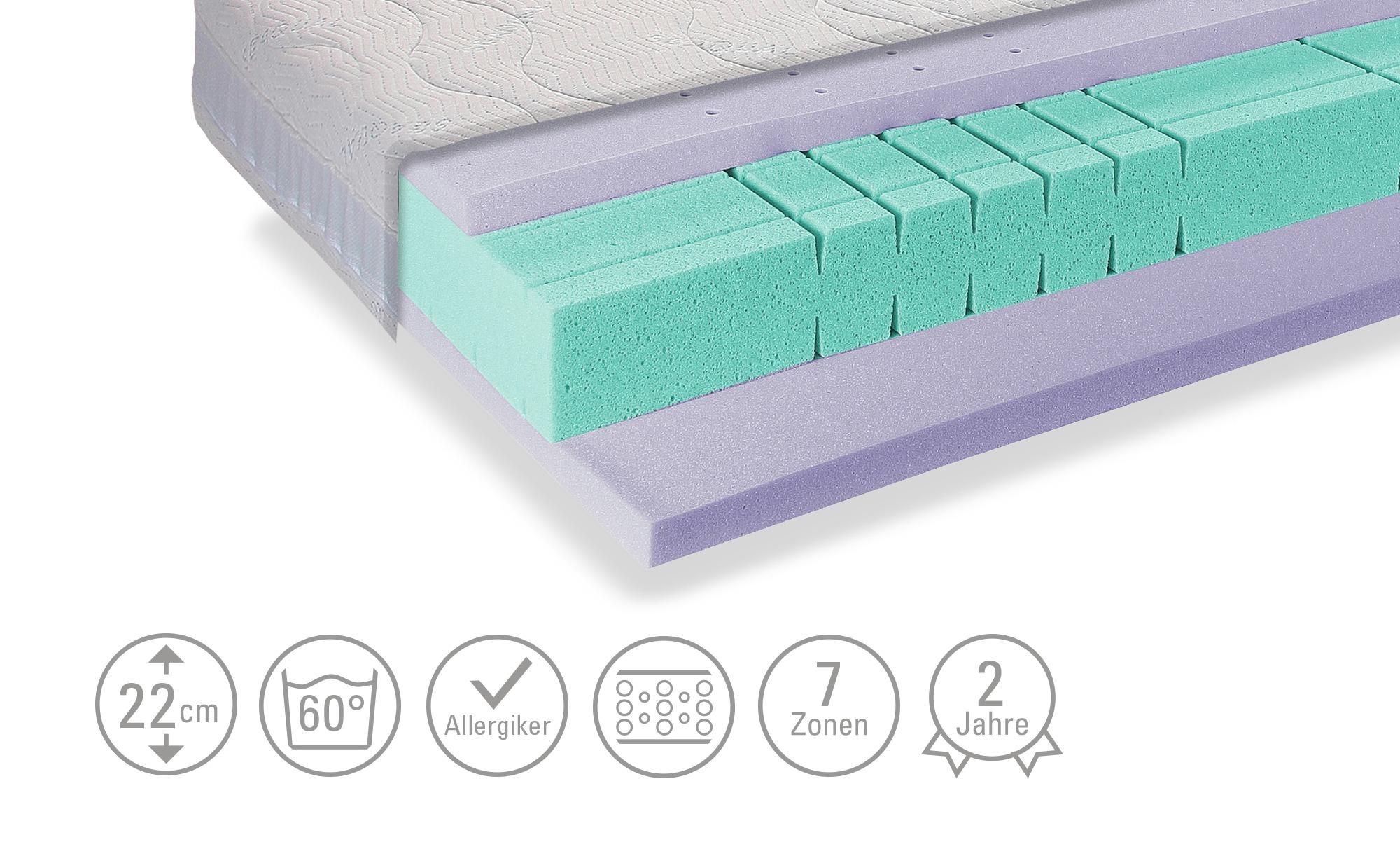 Schaumstoff-Matratze  Sea Dream Gel - weiß - Matratzen & Lattenroste > Matr günstig online kaufen