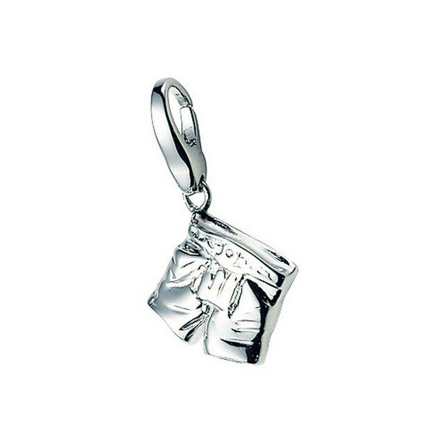 GIORGIO MARTELLO MILANO Charm-Einhänger Lederhose, Silber 925 günstig online kaufen