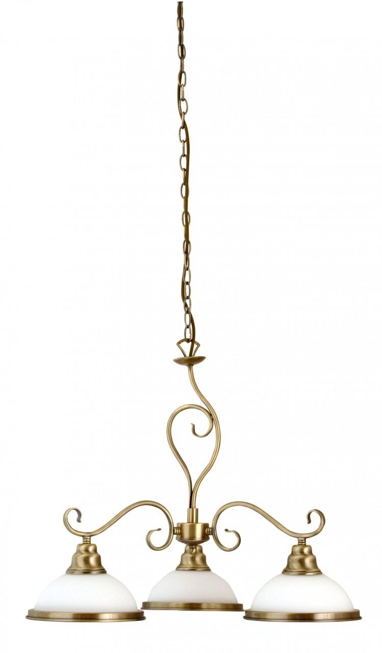 Pendelleuchte 3-flammig Bronze Elisett günstig online kaufen