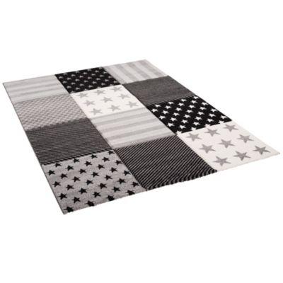 Pergamon Kinder und Jugend Teppich Maui Sterne Spielteppiche grau Gr. 140 x günstig online kaufen
