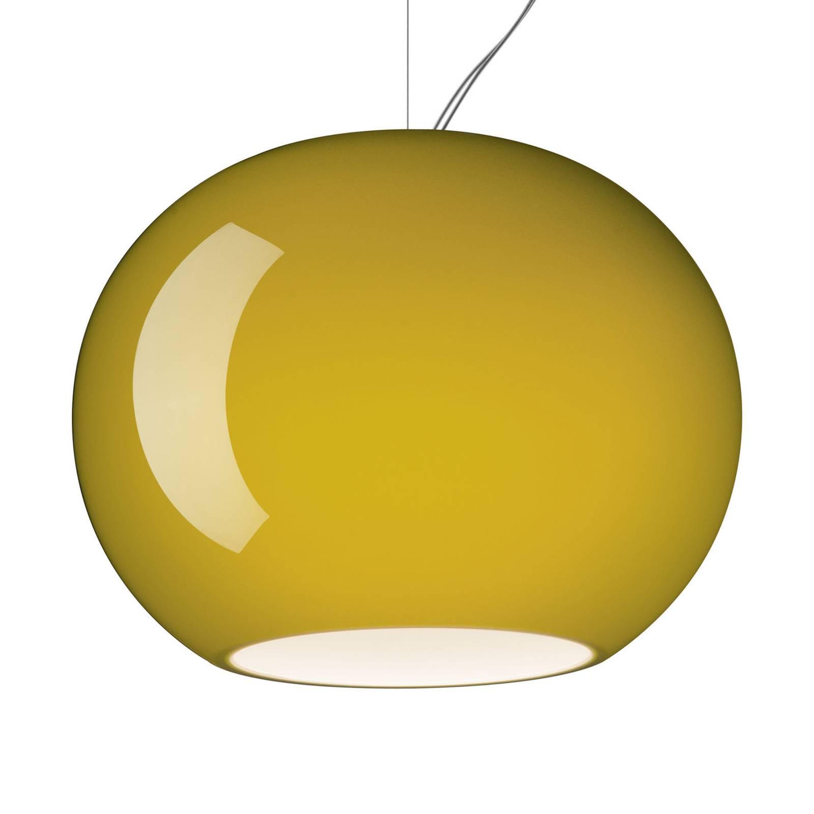 Foscarini Buds 3 LED-Pendelleuchte, E27 gelbgrün günstig online kaufen