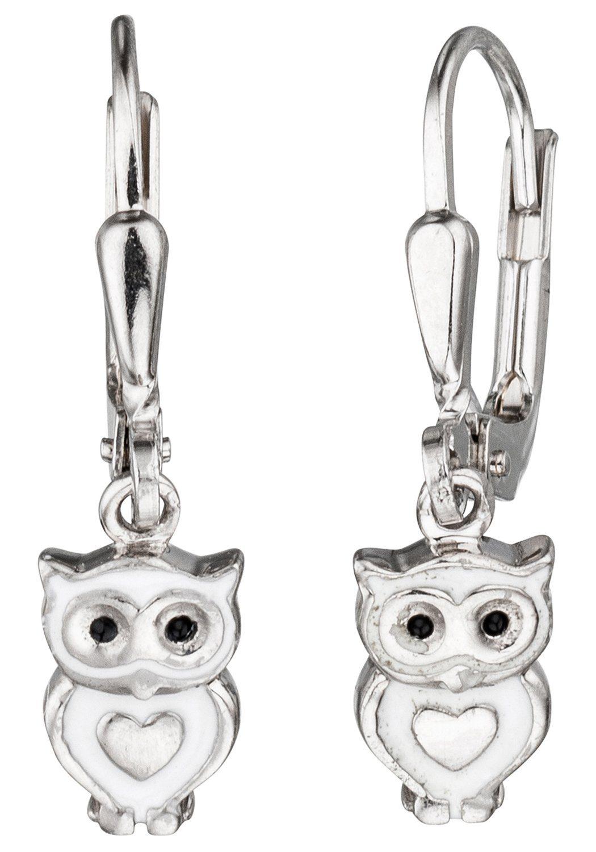 JOBO Paar Ohrhänger Eule, 925 Silber günstig online kaufen