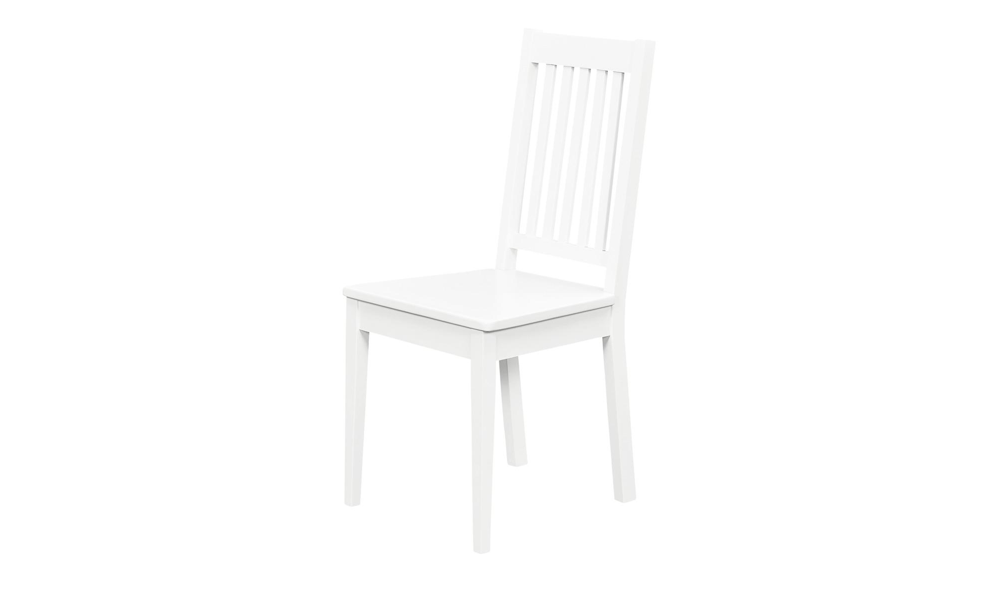 Stuhl, 2er-Set  Muslone ¦ weiß ¦ Maße (cm): B: 42,5 H: 95 T: 50 Stühle > Kü günstig online kaufen