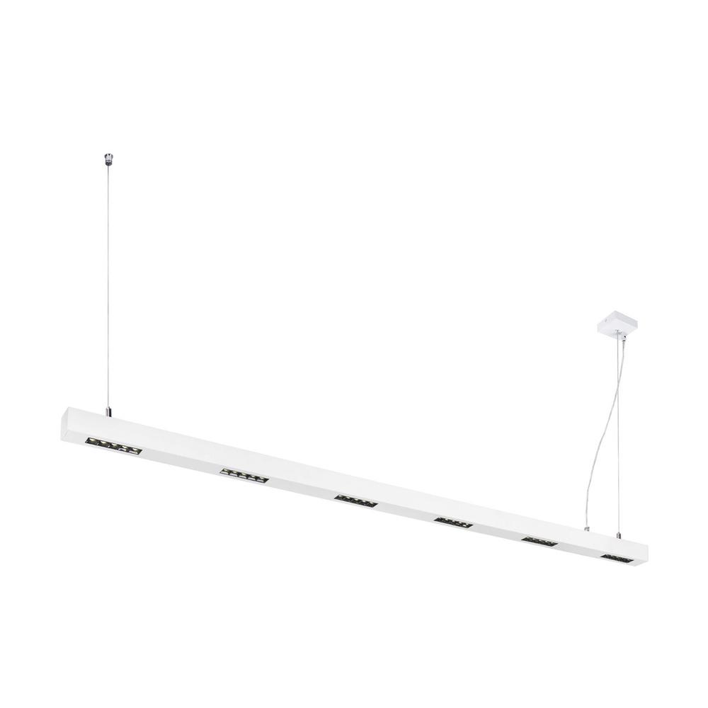 LED Pendelleuchte Q-Line in Weiß 5x17W 4000K günstig online kaufen