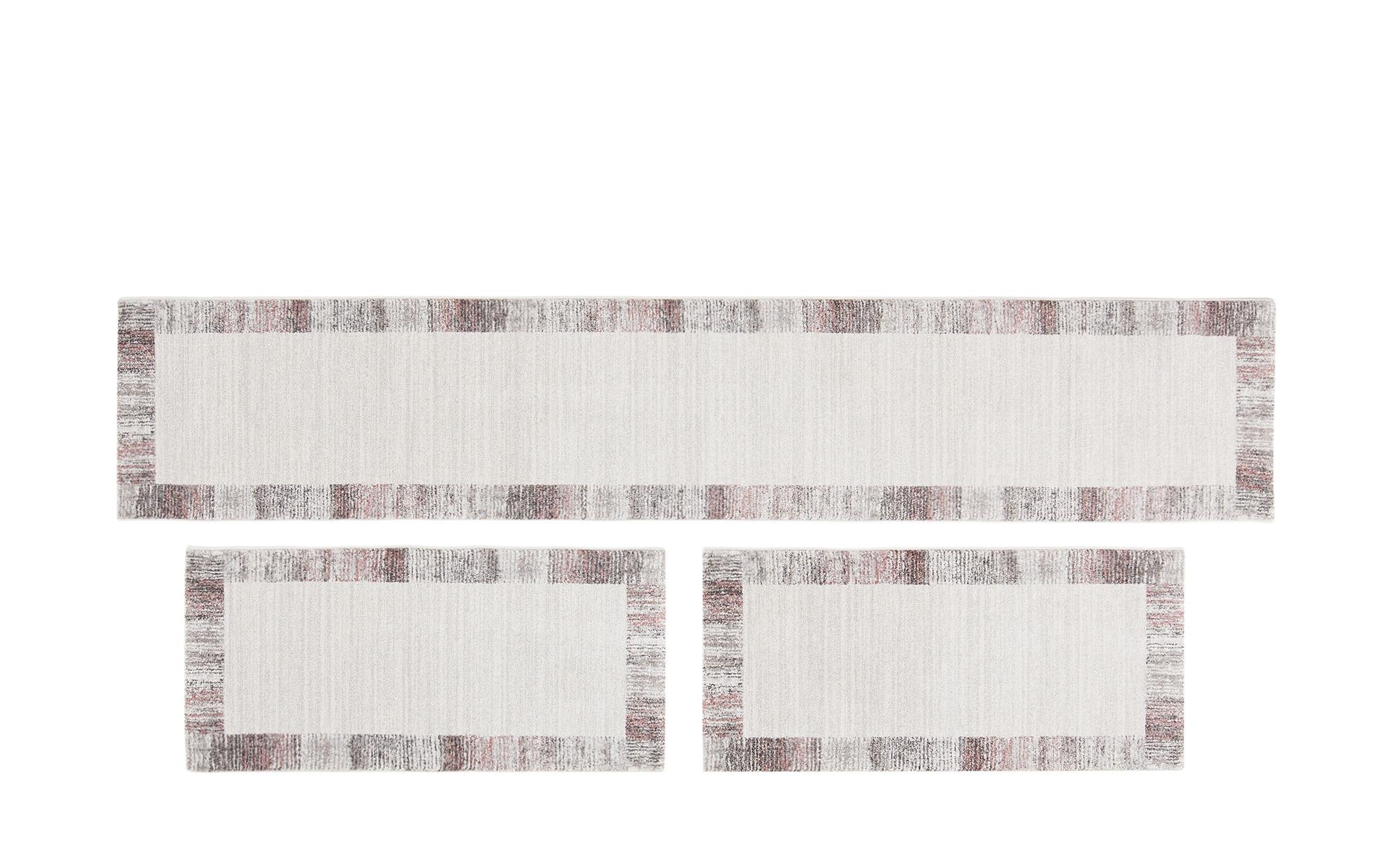 Bettumrandung - grau - Synthethische Fasern - Teppiche > Wohnteppiche > Kur günstig online kaufen