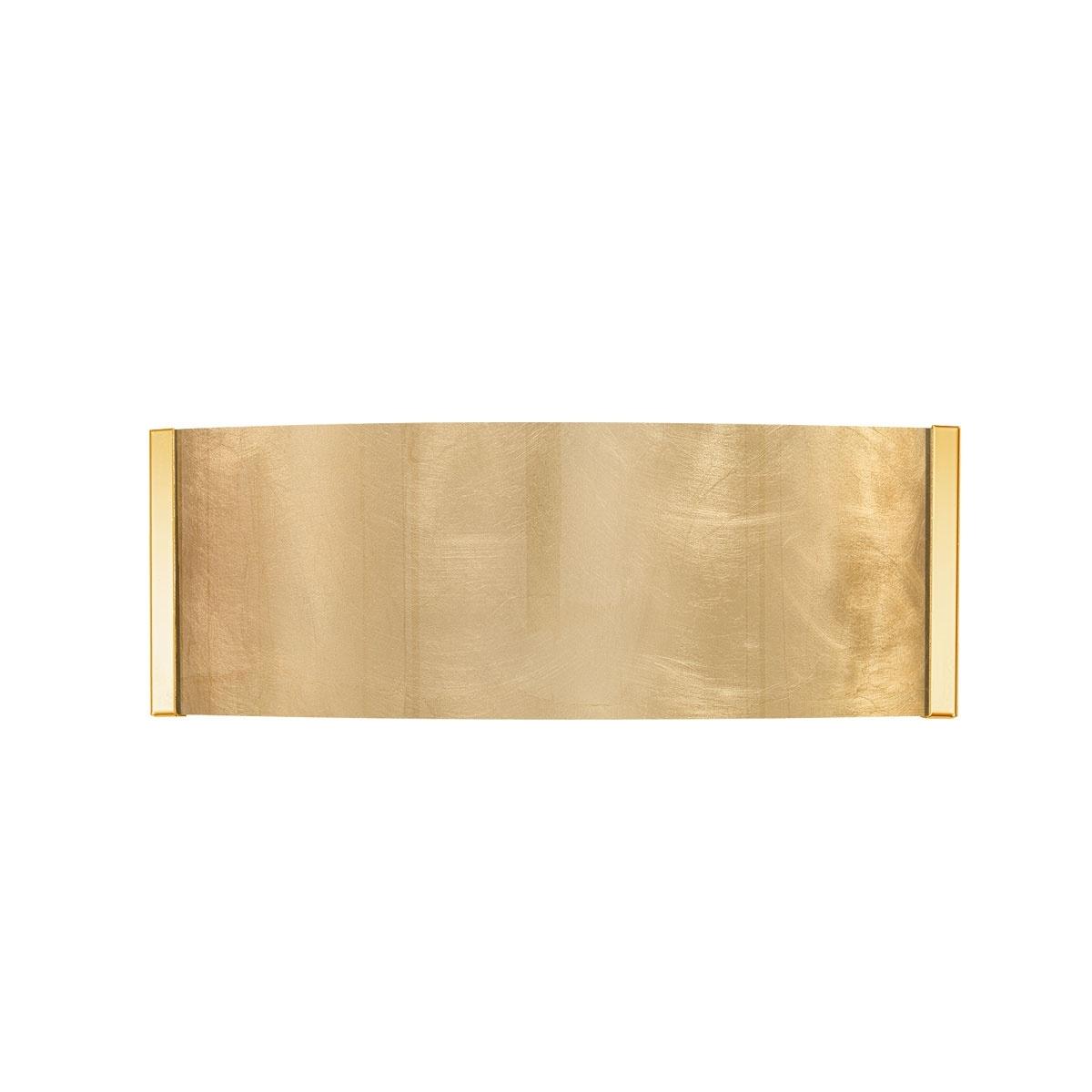 Kolarz Büro Wandleuchten Emozione WL, Gold, Glas, Kristallglas, Metall, Sto günstig online kaufen
